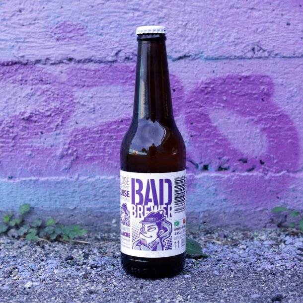 Bad Brewer Mr. White Blanché, 33 cl