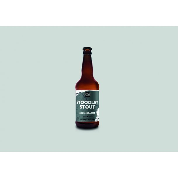 Stoodley Stout, organic,  50 cl.