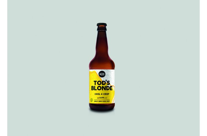 Tod's blonde Ale, organic, 50 cl.