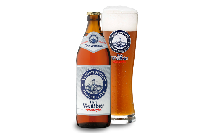 Veldensteiner Alkoholfrei Weiβbier 50 cl.