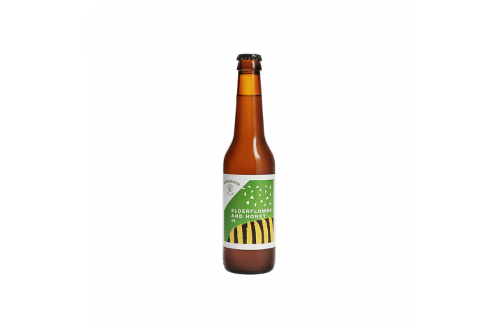 White Frontier Elderflower & Honey, IPA, 33 cl