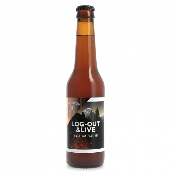 White Frontier Log Out & Live, American Pale Ale, 33 cl