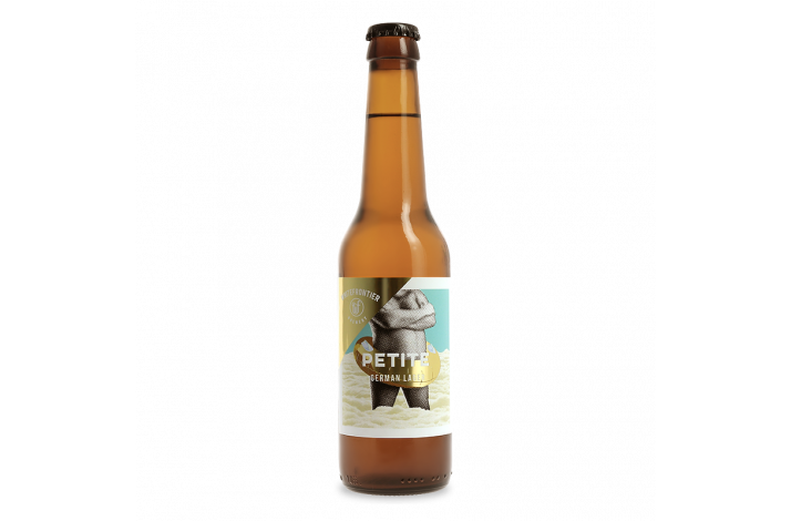 White Frontier Petite, German lager, 33cl